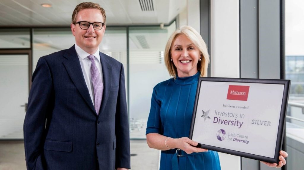 Matheson Awarded Investors in Diversity Silver Standard